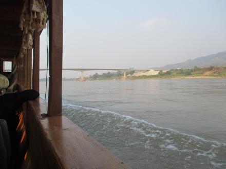 The Thai-Lao Friendship Bridge