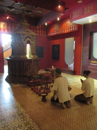 A simulation of a family shrine
