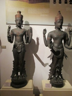 Hindu sculptures from the area