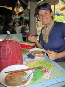 lunch noodle soup