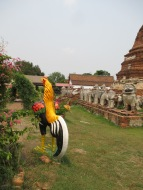 Wat Thammikarat - there were also a lot of chicken statues around...