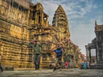 Angkor Wat jelfie