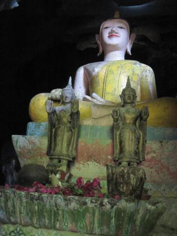Buddha at entrance