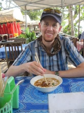 Khao Soi lunch on the Mekong