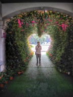Tunnel of Love of Chiang Rai park