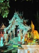 The silver ordination hall at Wat Sisuphan