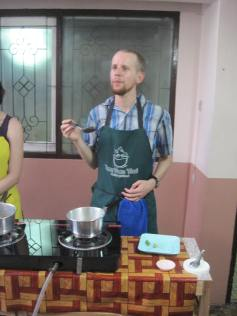 One year ago this month, we were creating tasty Thai dishes in Chiang Mai.