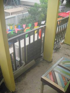 Our small balcony