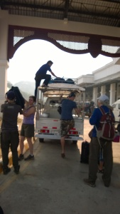 Unloading from the souengthaw
