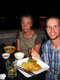 Our last dinner in Hue