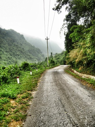 This was once part of the Ho Chi Minh Trail