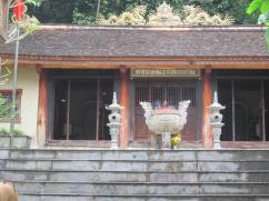 The temple dedicated to those who lost their lives here