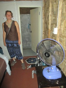 Our trusing fan for cooling off