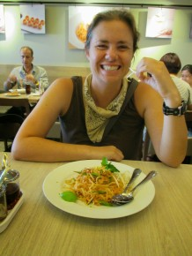 Our last pad thai in Thailand
