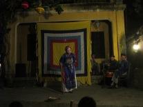 Traditional opera performance