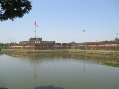 The outer wall of the citadel