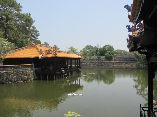 Pavilion on the lake