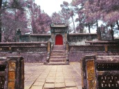 The tomb of the Empress - we liked the weird playing with color in this picture