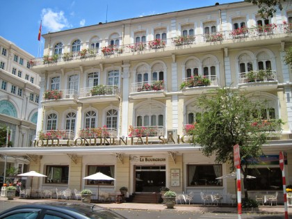 Continental Hotel which featured in the book Saigon