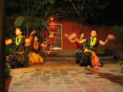 Nice Nepali dance show