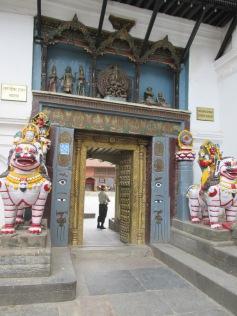 Gate into Hanuman Dhoka