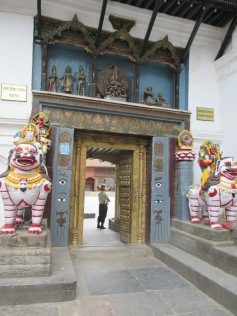 Gate into Hanuman Dhoka