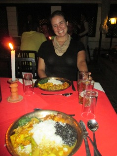 Our blowout Newari meal