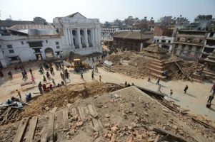 The view from where we were sitting. Photo source http://www.theguardian.com/world/gallery/2015/apr/29/nepal-earthquake-kathmandu-before-and-after-in-pictures