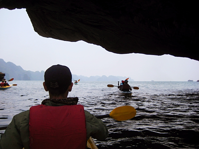 Heading under the karst