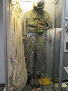 The flight suit John McCain was wearing when he crash-landed in Hanoi