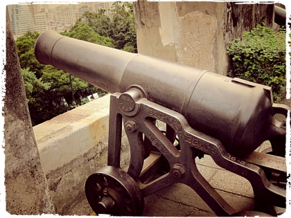 Cannon on Mount Fortress