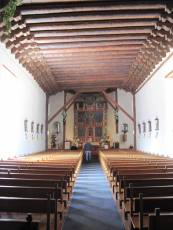Inside of St. Francisco de Asis Church