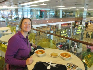more laksa (at the airport)