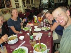 bun bo hue (beef soup) in Hue