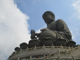 The Big Buddha on Lantau