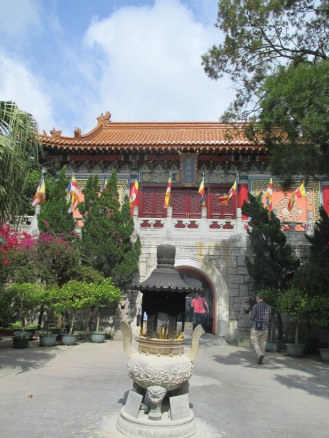 Entrance to the Po Lin Monastery