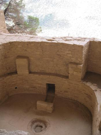 A Kiva in the Balcony House