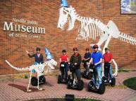 Group shot at the museum