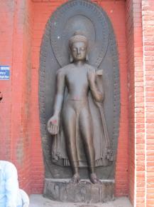 Kathmandu, Nepal: Image at Swayambhunath Temple
