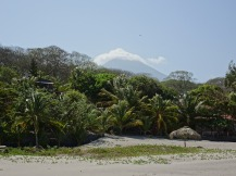 Volcan Concepcion from Playa Santo Domingo