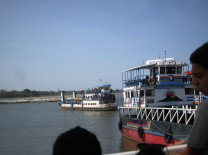Our ferry pulling in