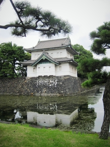 A old guardtower from the imperial palace
