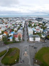 View looking west into Reykjavík's Old Town