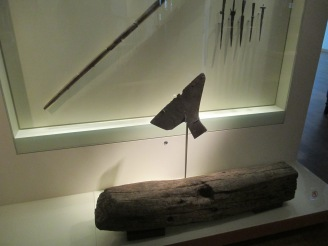 """This ax head plays a prominent role in the historical fiction novel """"Burial Rites"""" which is set in Iceland"""