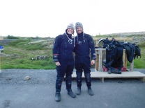 In our drysuits