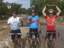 Celebrating riding 150 miles