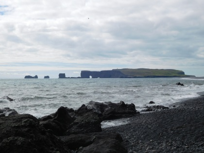 Looking back at Dyrhólaey