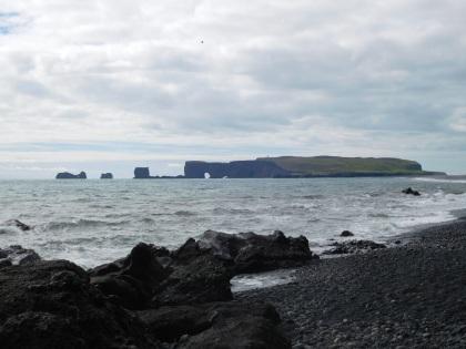 Looking back at Dyrhólaey