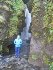 Getting ready to explore the hidden waterfall