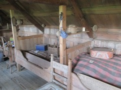 The beds in the baðstofa